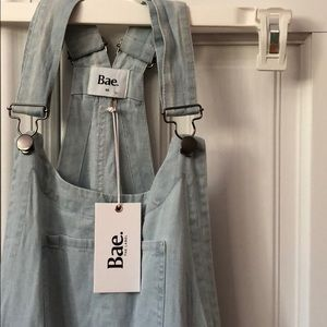 Bae the label maternity overalls